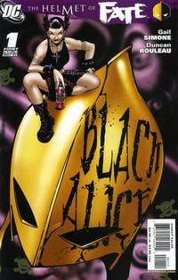 Cover Thumbnail for The Helmet of Fate: Black Alice (DC, 2007 series) #1
