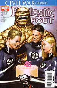 Cover Thumbnail for Fantastic Four (Marvel, 1998 series) #543 [Direct Edition]