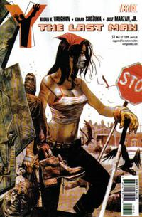 Cover Thumbnail for Y: The Last Man (DC, 2002 series) #53