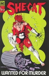 Cover Thumbnail for She-Cat (AC, 1989 series) #2