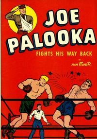 Cover Thumbnail for Joe Palooka Fights His Way Back (Harvey, 1945 series)