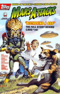 Cover Thumbnail for Mars Attacks (Topps, 1994 series) #2