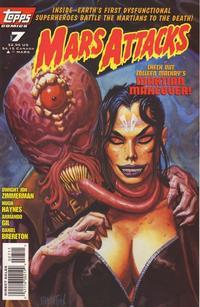 Cover Thumbnail for Mars Attacks (Topps, 1995 series) #7