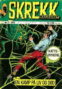 Cover Thumbnail for Skrekk Magasinet (Illustrerte Klassikere / Williams Forlag, 1972 series) #2/1972