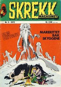 Cover Thumbnail for Skrekk Magasinet (Illustrerte Klassikere / Williams Forlag, 1972 series) #5/1972