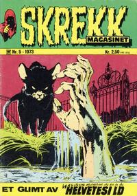 Cover Thumbnail for Skrekk Magasinet (Illustrerte Klassikere / Williams Forlag, 1972 series) #5/1973