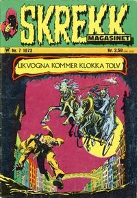 Cover Thumbnail for Skrekk Magasinet (Illustrerte Klassikere / Williams Forlag, 1972 series) #7/1973