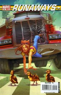 Cover for Runaways (Marvel, 2005 series) #21