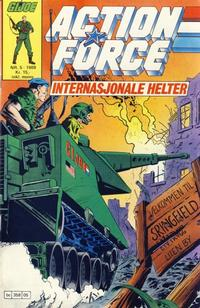 Cover Thumbnail for Action Force (Bladkompaniet / Schibsted, 1988 series) #5/1988