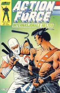 Cover Thumbnail for Action Force (Bladkompaniet / Schibsted, 1988 series) #6/1988