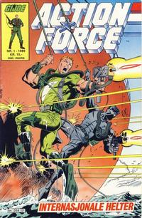 Cover Thumbnail for Action Force (Bladkompaniet / Schibsted, 1988 series) #1/1989