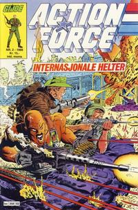 Cover Thumbnail for Action Force (Bladkompaniet / Schibsted, 1988 series) #2/1989