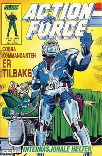 Cover Thumbnail for Action Force (Bladkompaniet / Schibsted, 1988 series) #5/1989