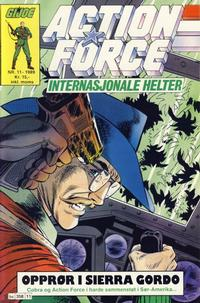 Cover Thumbnail for Action Force (Bladkompaniet / Schibsted, 1988 series) #11/1989