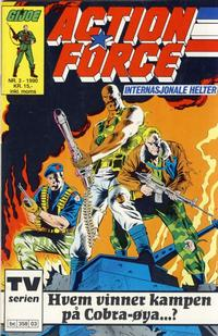 Cover Thumbnail for Action Force (Bladkompaniet / Schibsted, 1988 series) #3/1990