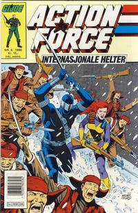Cover Thumbnail for Action Force (Bladkompaniet / Schibsted, 1988 series) #6/1990