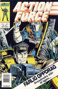 Cover Thumbnail for Action Force (Bladkompaniet / Schibsted, 1988 series) #7/1990