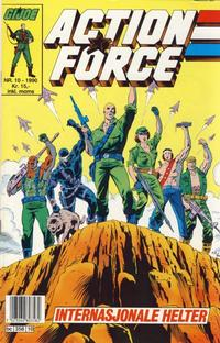 Cover Thumbnail for Action Force (Bladkompaniet / Schibsted, 1988 series) #10/1990