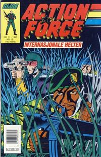 Cover Thumbnail for Action Force (Bladkompaniet / Schibsted, 1988 series) #11/1990