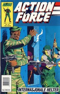 Cover Thumbnail for Action Force (Bladkompaniet / Schibsted, 1988 series) #1/1991