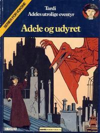 Cover Thumbnail for Adele (Semic, 1983 series) #1 - Adele og uhyret