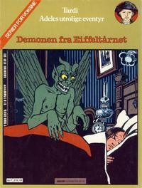 Cover for Adele (Semic, 1983 series) #2 - Demonen fra Eiffeltårnet