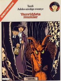 Cover Thumbnail for Adele (Semic, 1983 series) #4 - Vanviddets mumier