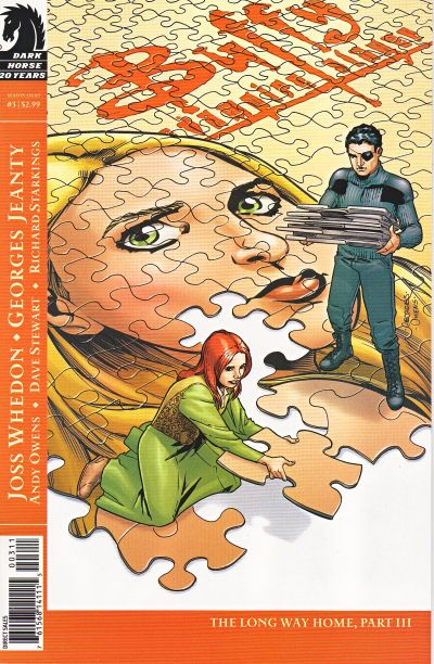 Cover for Buffy the Vampire Slayer Season Eight (Dark Horse, 2007 series) #3 [Jo Chen cover]