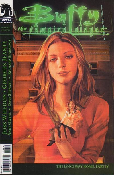 Cover for Buffy the Vampire Slayer Season Eight (Dark Horse, 2007 series) #4 [Jo Chen Cover]