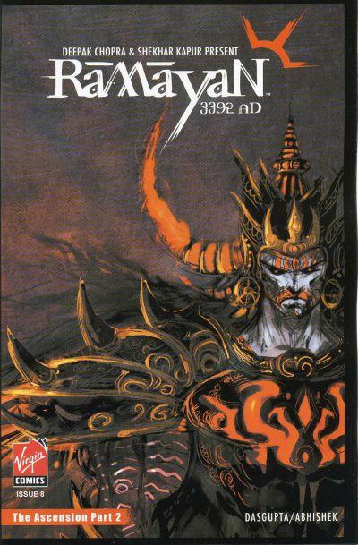Cover for Ramayan 3392 A.D. (Virgin, 2006 series) #8