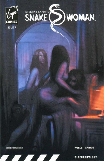 Cover for Snake Woman (Virgin, 2006 series) #7 [Variant Cover]
