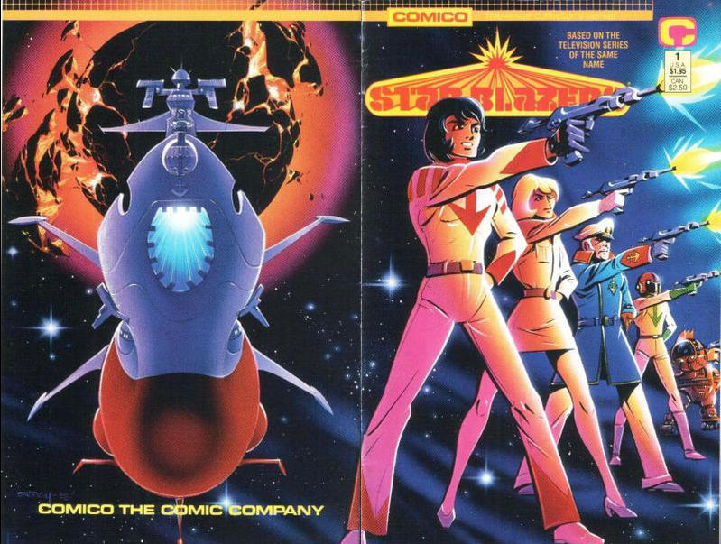 Cover for Star Blazers (Comico, 1989 series) #1