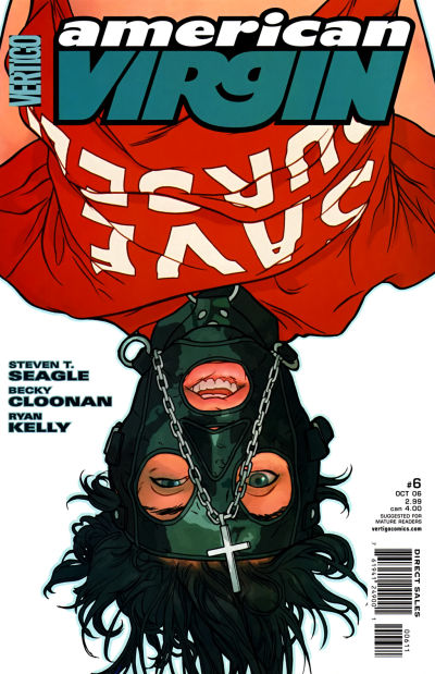 Cover for American Virgin (DC, 2006 series) #6
