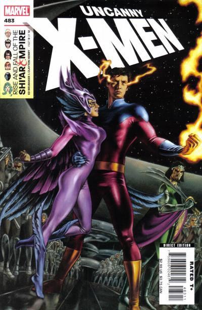 Cover for The Uncanny X-Men (Marvel, 1981 series) #483