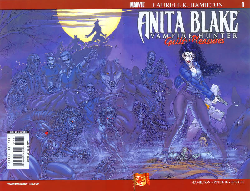 Cover for Anita Blake: Vampire Hunter in Guilty Pleasures (Marvel, 2006 series) #1 [2007 Convention Exclusive]