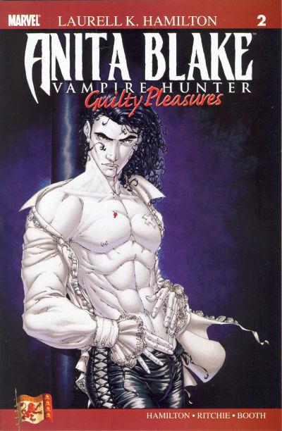Cover for Anita Blake: Vampire Hunter in Guilty Pleasures (Marvel, 2006 series) #2