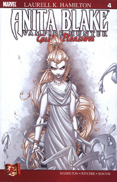 Cover for Anita Blake: Vampire Hunter in Guilty Pleasures (Marvel, 2006 series) #4