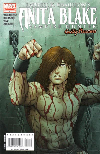 Cover for Anita Blake: Vampire Hunter in Guilty Pleasures (Marvel, 2006 series) #10