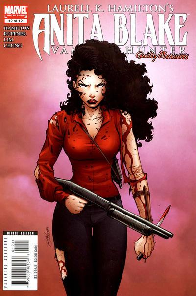 Cover for Anita Blake: Vampire Hunter in Guilty Pleasures (Marvel, 2006 series) #12