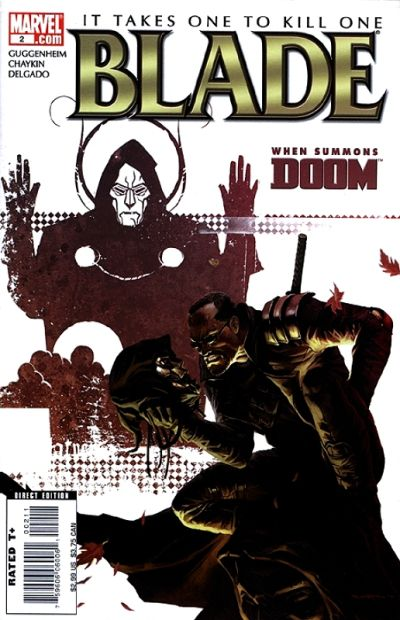 Cover for Blade (Marvel, 2006 series) #2 [Direct Edition]