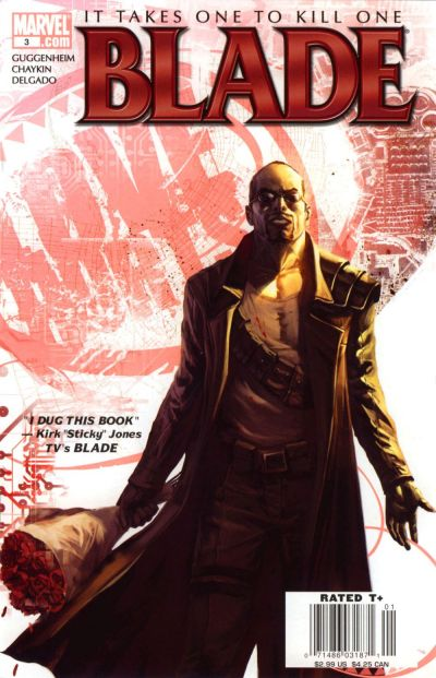 Cover for Blade (Marvel, 2006 series) #3 [Direct Edition]