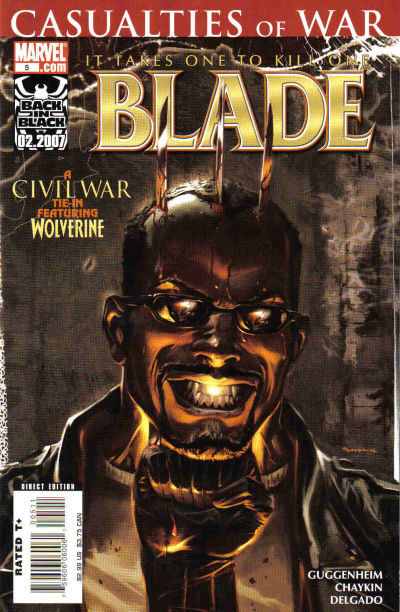 Cover for Blade (Marvel, 2006 series) #5 [Direct Edition]