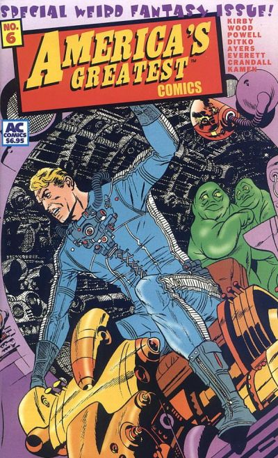 Cover for America's Greatest Comics (AC, 2002 series) #6