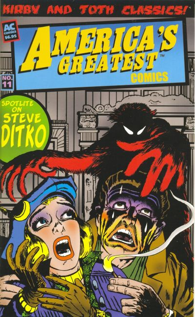 Cover for America's Greatest Comics (AC, 2002 series) #11