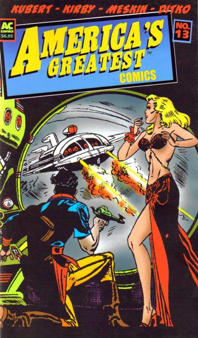 Cover for America's Greatest Comics (AC, 2002 series) #13
