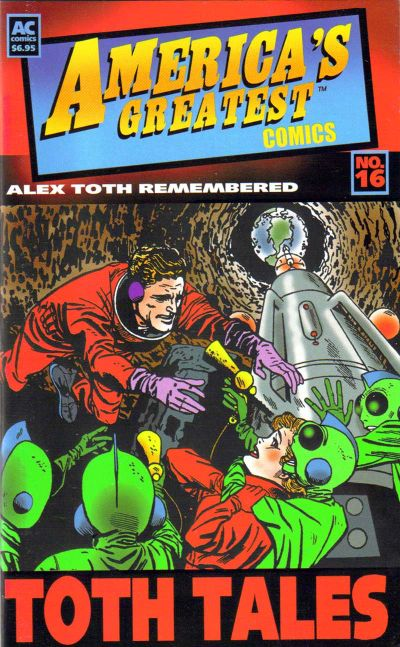 Cover for America's Greatest Comics (AC, 2002 series) #16