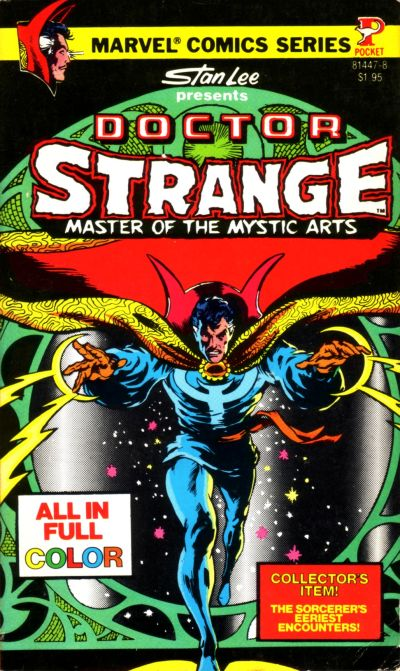 Cover for Doctor Strange, Master of the Mystic Arts (Pocket Books, 1978 series) #[1]