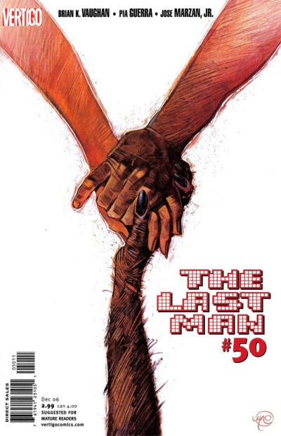 Cover for Y: The Last Man (DC, 2002 series) #50