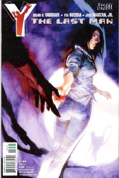 Cover for Y: The Last Man (DC, 2002 series) #52