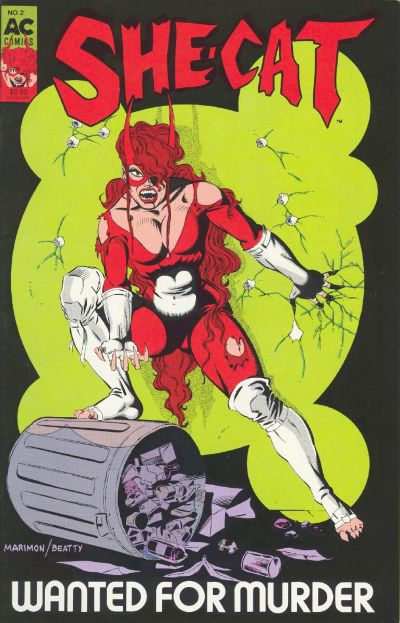 Cover for She-Cat (AC, 1989 series) #2